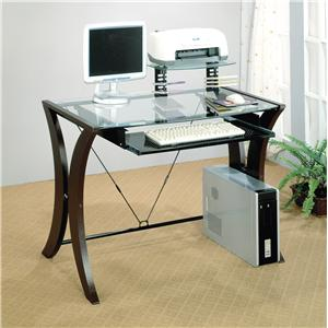Coaster Division Table Desk