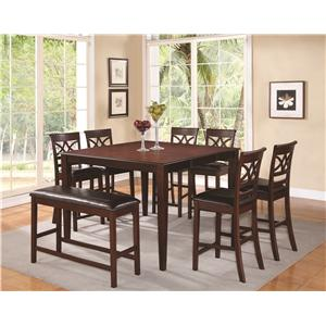 Coaster Dunham  Counter Height Dining Room Group
