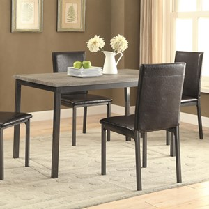 Dining Table with Four Legs