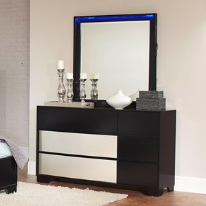 Coaster find a local furniture store with coaster fine furniture dresser and mirror solutioingenieria Image collections