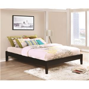 king platform bed - Coaster Bed Frame
