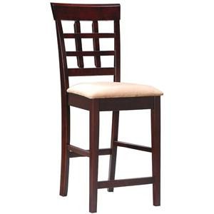 "Coaster Mix & Match 24"" Wheat Back Bar Stool"
