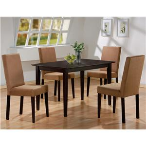 Coaster Mix & Match 5 Piece Dining Set