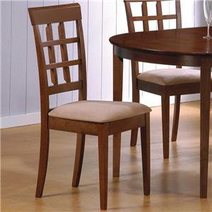 Coaster Mix & Match Wheat Back Chair