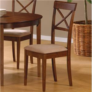 Coaster Mix & Match Cross Back Chair