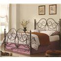 Queen Iron Bed