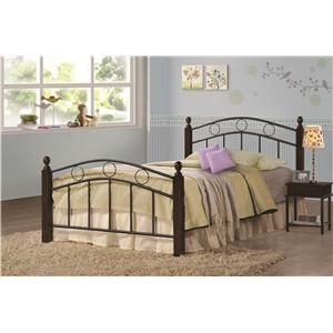 Coaster Iron Beds and Headboards Twin Kyan Bed