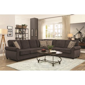 Sectional  sc 1 st  Coaster Fine Furniture : coaster furniture sectional - Sectionals, Sofas & Couches