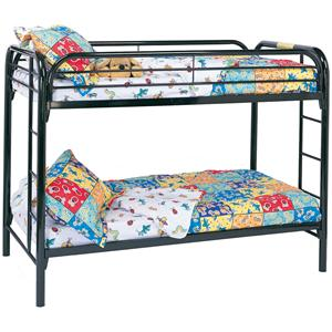 twin bunk bed - Coaster Bed Frame