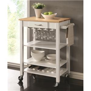 Coaster Kitchen Carts Kitchen Cart