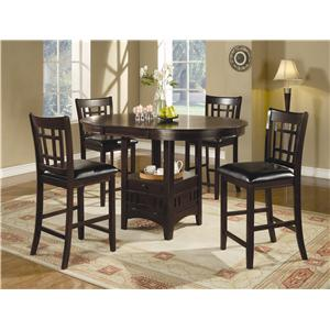 5 piece counter table and chair set - Table And Chair Sets Kitchen