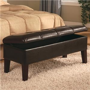Coaster Lewis Storage Bench