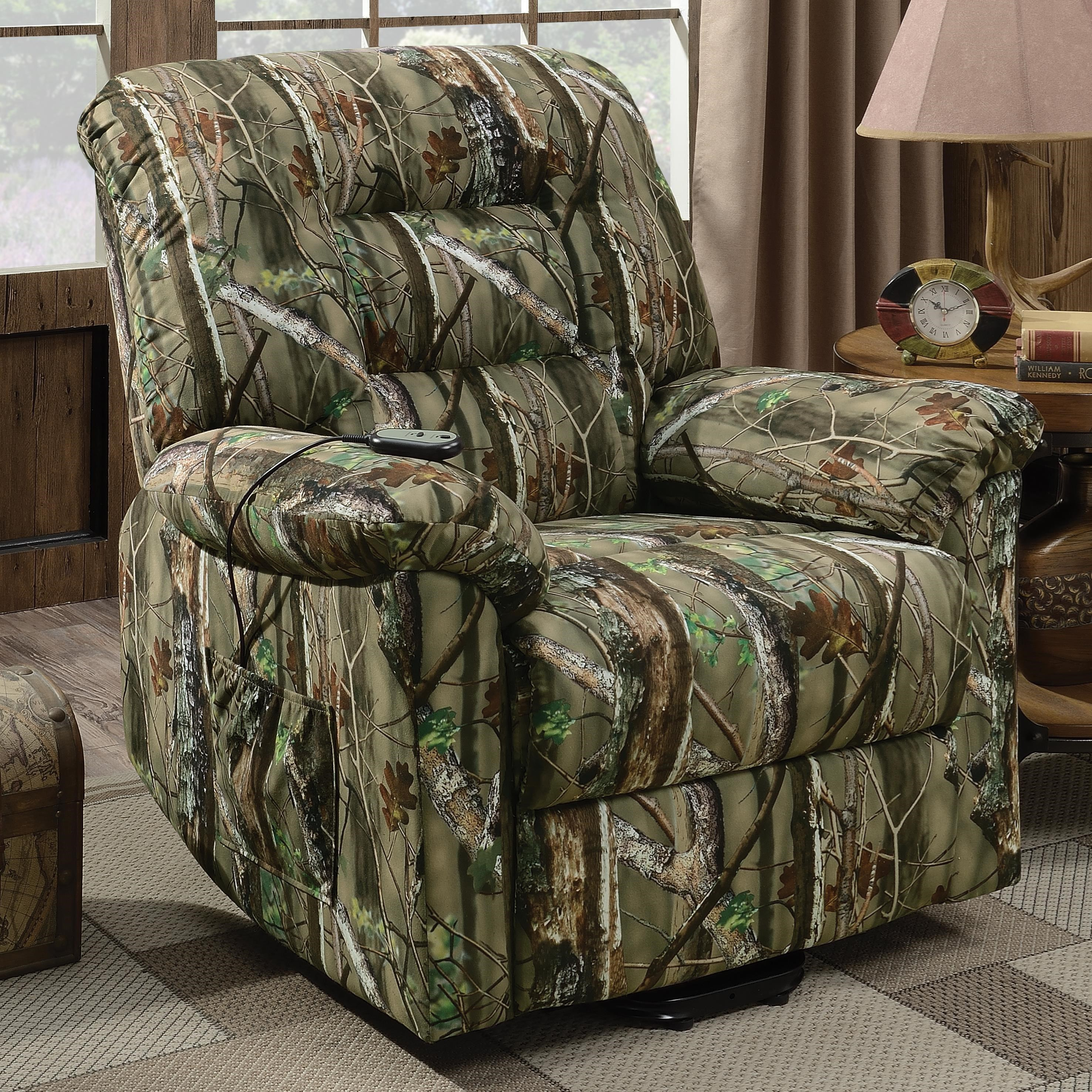 Camouflage Lift Recliner