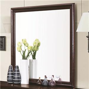 Framed Square Dresser Mirror