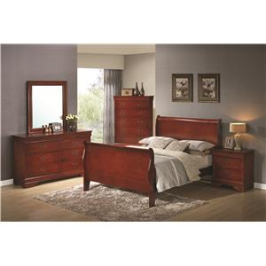Coaster Louis Philippe California King Bedroom Group
