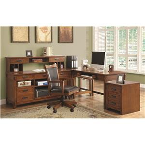 Coaster Maclay L-Shaped Desk