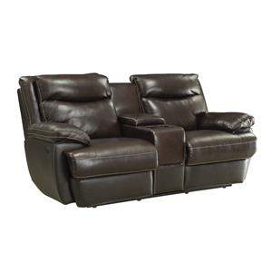 Coaster MacPherson Power Motion Loveseat With Con