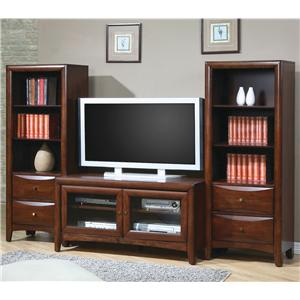 Coaster Madison - Coaster Media Stand Wall Unit