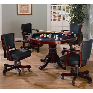 Coaster Mitchell 5 Piece Game Table Set