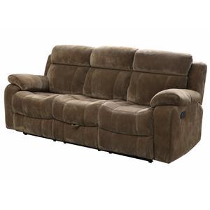 Motion Sofa w/ Pillow Arms