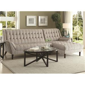 Sectional Sofa  sc 1 st  Coaster Fine Furniture : furniture stores sectionals - Sectionals, Sofas & Couches