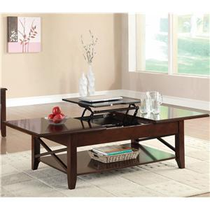 Coaster Occasional Group Lift-Top Coffee Table