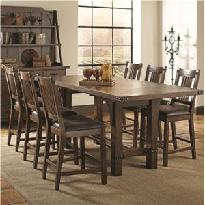 Coaster Padima 7 Pc Counter Height Dining Set