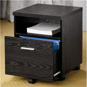 Coaster Peel File Cabinet