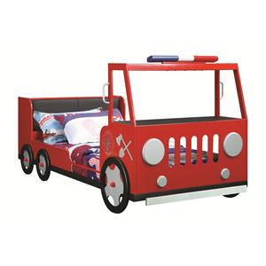 Coaster Novelty Beds Fire Rescue Car Bed