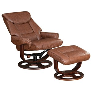 Ergonomic Chair And Ottoman