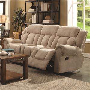 Coaster Reige Motion Sofa