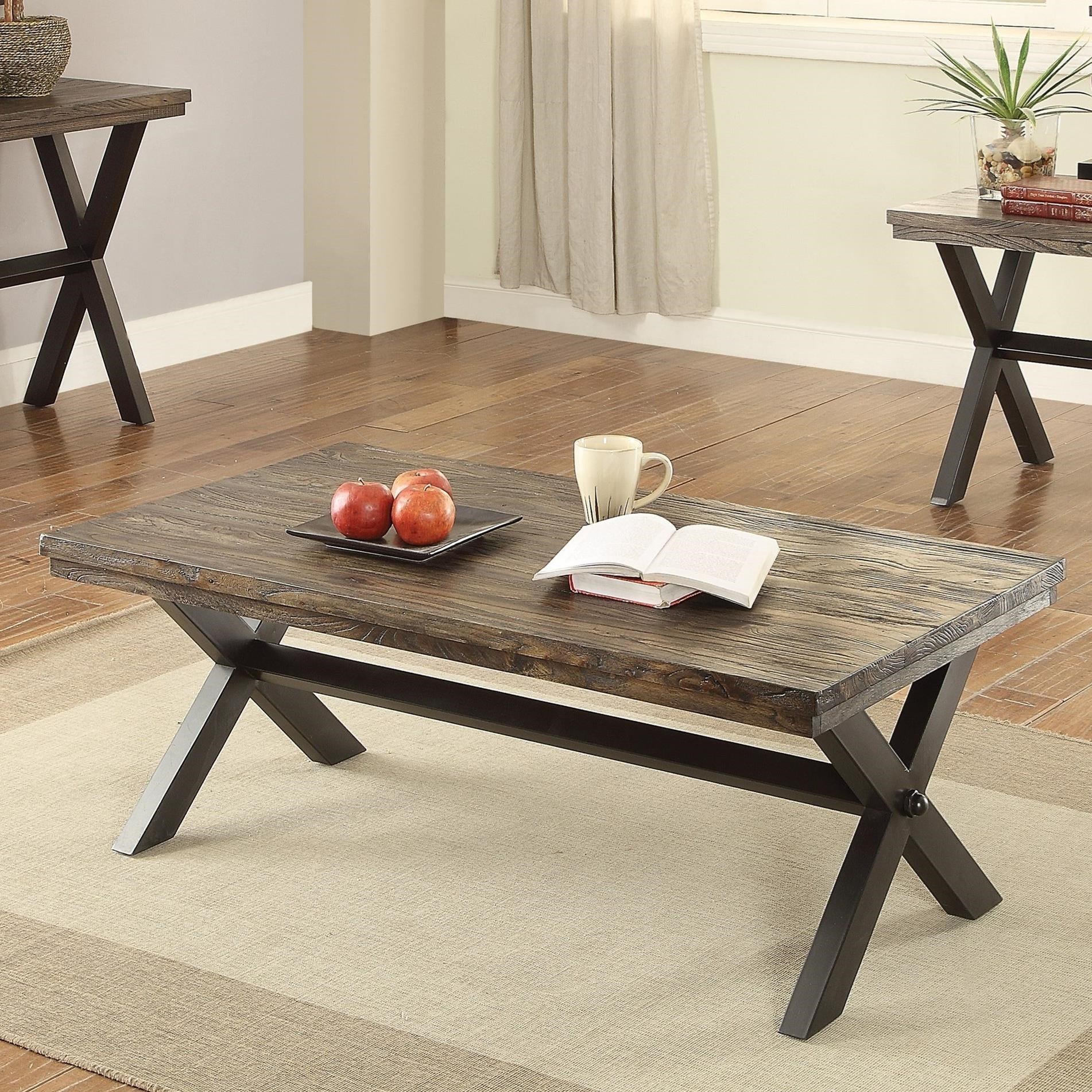 Rustic Coffee Table by Coaster