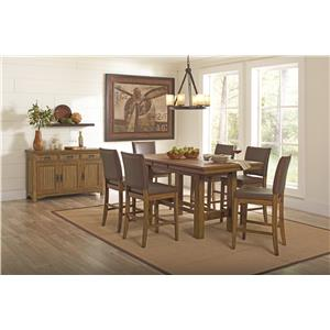 Coaster Salerno Casual Dining Room Group