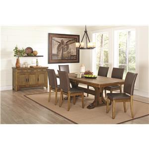Coaster Salerno Formal Dining Room Group