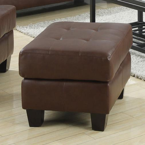 Chair Ottoman w/ Cushioned Top