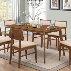 Retro Rectangular Dining Table