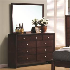 Coaster Serenity  Dresser and Mirror