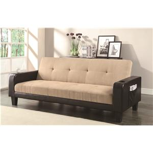 Coaster Sofa Beds and Futons Adjustable Sofa