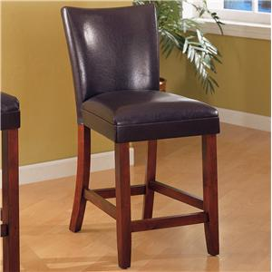"Coaster Telegraph 24"" Bar Stool"