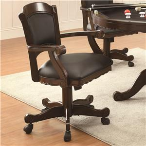Coaster Turk Game Chair