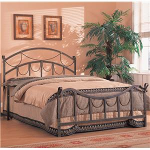 Coaster Georgia Queen Iron Bed
