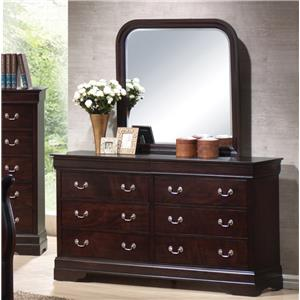 Coaster Louis Philippe Dresser and Mirror
