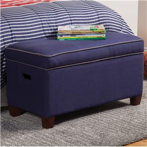 Coaster Youth Seating and Storage Storage Bench