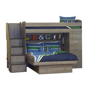 Berg Pewter Pewter Bunk Bed