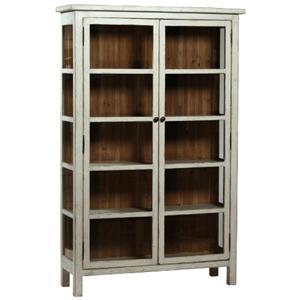Dovetail Furniture DOVETAIL Anna Vitrine Display Cabinet