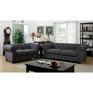 Del Sol Exclusive Stanford Sofa & Love Seat