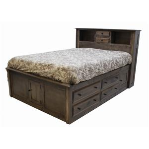 Daniel's Amish Simplicity Collection Storage Bed