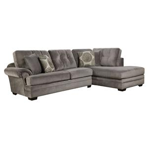 Sectional Sofa with Chaise (on right side)  sc 1 st  Wolf Furniture : corinthian furniture sectional - Sectionals, Sofas & Couches