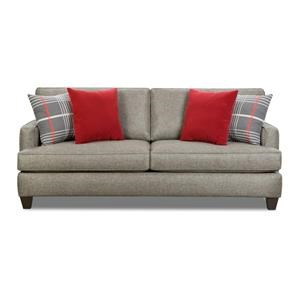 Amazing Sofa With 4 Accent Pillows
