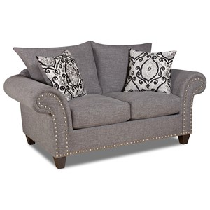 Loveseat with Traditional Style